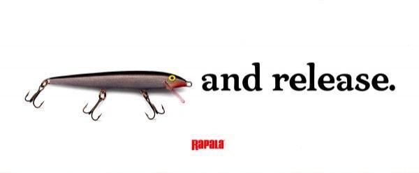 Campaña Catch & Release de Rapala